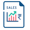Sales Growth Finance Icon