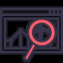 Sales Statics Analysis Icon