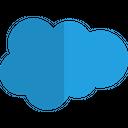 Salesforce Technology Logo Social Media Logo Icon