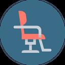 Salon Furniture Barber Icon