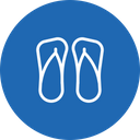 Sandals Flipflop Slippers Icon