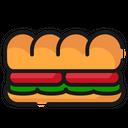 Fast Food Food Sandwich Icon Icon