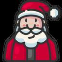 Santa Claus Father Christmas Xmas Icon