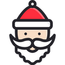 Santa Claus Holiday Merry Icon