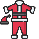 Santa costume Icon