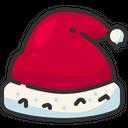 Santa Hat Christmas Hat Christmas Cap Icon