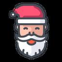 Santa Santaclaus Santa Face Icon