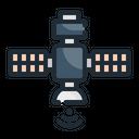 Satellite Technology Space Icon