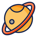 Saturn Space Science Icon