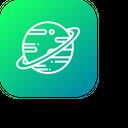 Saturn Icon