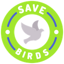 Artboard Copy Save Birds Logo Icon