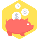Save Money Time Is Money Savings Icon