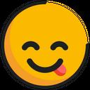 Emoticon Emoji Savoring Icon
