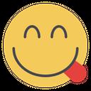 Savoring Food Emojis Emoji Icon