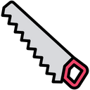 Saw Cutter Hand Tool Icon