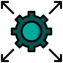 Scalable Seo And Web Servers Icon