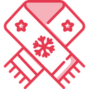 Scarf Winter Muffler Icon