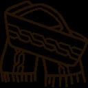 Scarf Muffler Icon