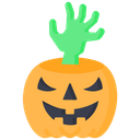 Scary Hand Scary Ghost Hand Icon