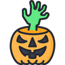 Scary hand Icon