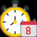 Schedule Timer Planning Icon