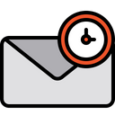 Schedule Mail Timing Mail Planning Mail Icon