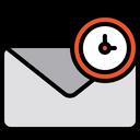 Schedule mail Icon