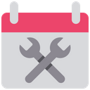 Schedule Management Planning Icon