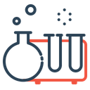 Science Research Testtube Icon