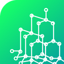Science Structure Model Icon