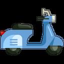 Scooter Transport Transportation Icon