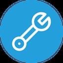 Screw Nut Tool Icon