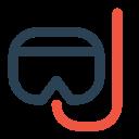 Scuba Diving Goggles Icon