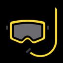 Scuba Dive Glass Icon