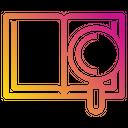 Book Data Work Icon