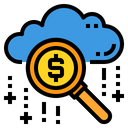 Search Business Cloud Icon