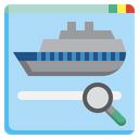 Search Cruise Search Ship Search Icon