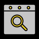 Calendar Date Search Icon