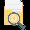 Search In Folder Search Folder Folder Magnifying Icon