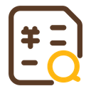 Search Invoice Icon