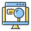 Keyword Search Seo Icon