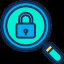 Search Lock Icon