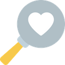 Search Love Icon
