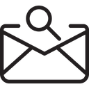 Search Mail Icon