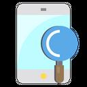 Smartphone Screen Data Icon