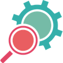 Management Search Engines Search Operations Icon