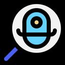 Search Robot Mini Search Robot Search Icon