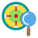 Target Data Work Icon
