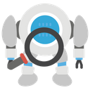 Searching Robot Icon
