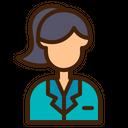 Secretary Avatar Woman Icon